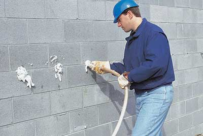 Block Wall Insulation
